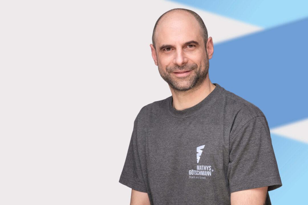 Mitarbeiter Nikola Kotevski von Mathys und Götschmann