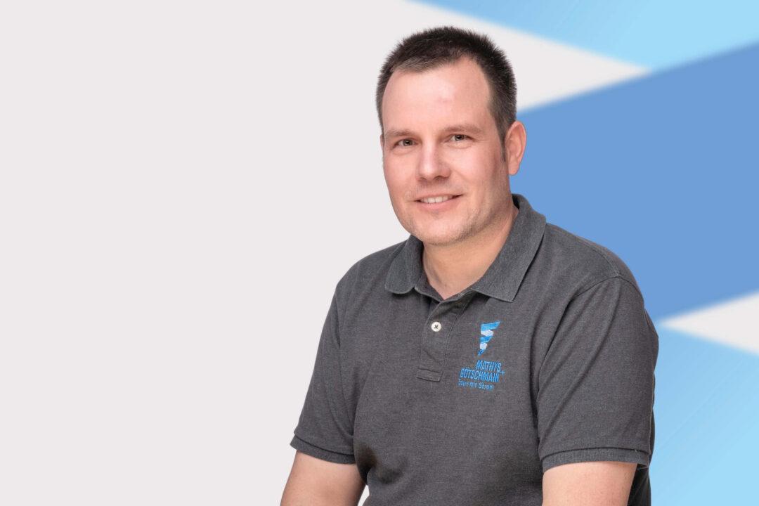 Mitarbeiter Peter Bosshard von Mathys und Götschmann